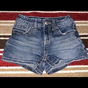 Justice Blue Jean Shorts. Size  6R